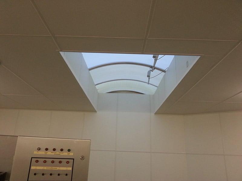 Hygiënische plafondsysteem