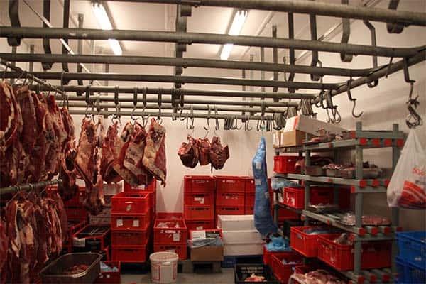 vleesverwerkings bedrijf