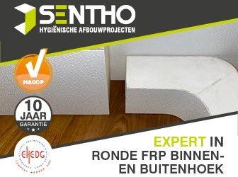Sentho introduceert de nieuw ontwikkelde ronde binnen-/buitenhoek